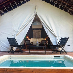 Habitas Tulum Private Plunge Pool Room
