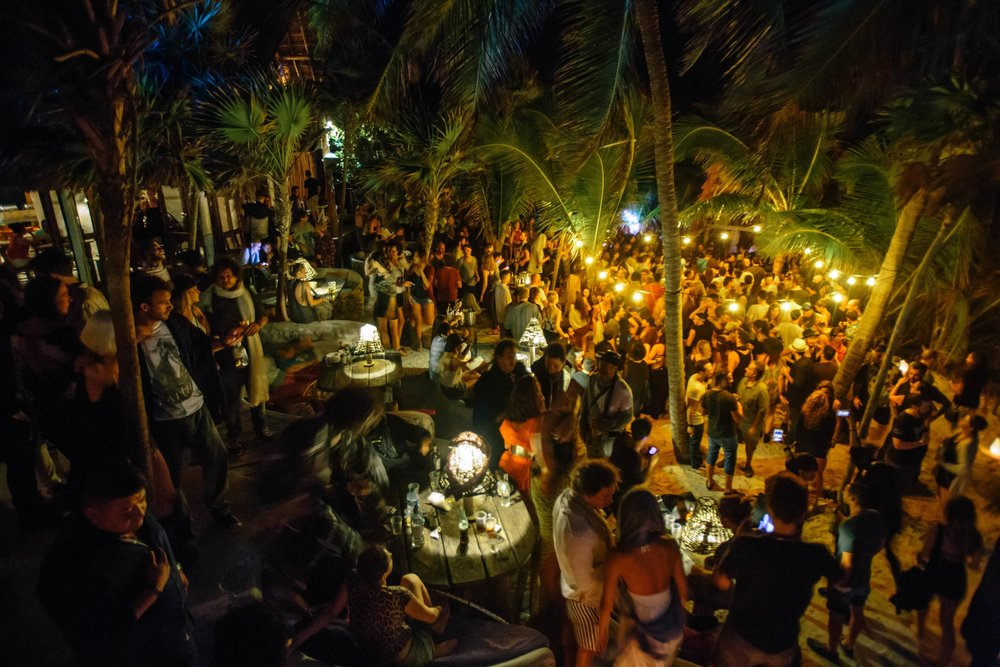 Full Moon Parties At The Papaya Playa Project Travel To Tulum