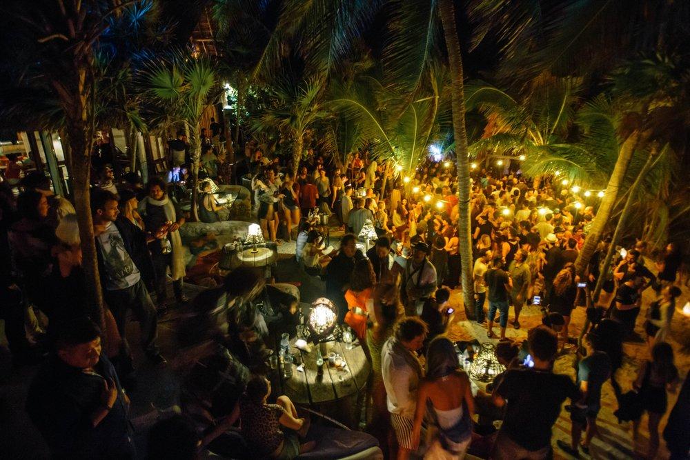 Full Moon Parties At The Papaya Playa Project Travel To Tulum
